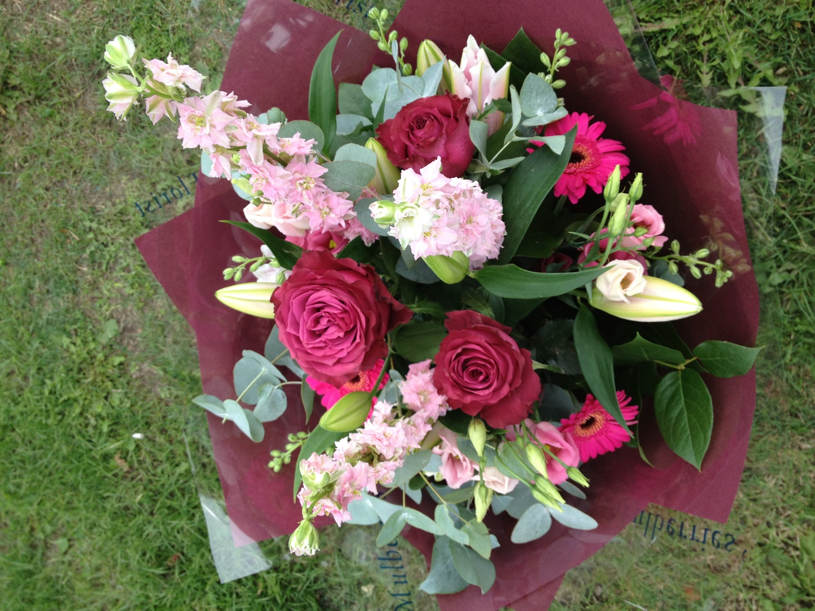 News updates the flower house bouquet of flowers with vibrant reds pinks izmirmasajfo Choice Image